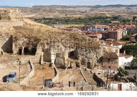 Wineries of Calatayud, Zaragoza province, Aragon, Spain
