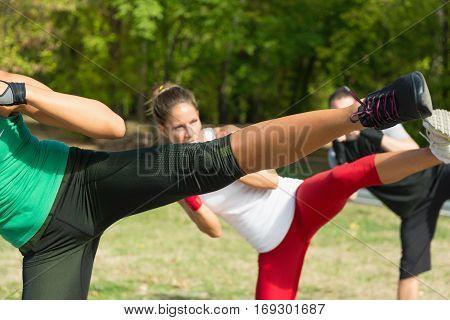 Taebo Side Kicks