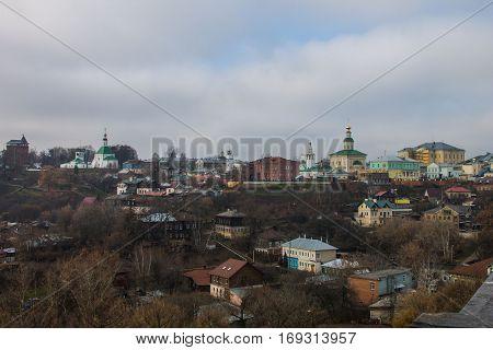 Old town Vladimir in autumn -- november
