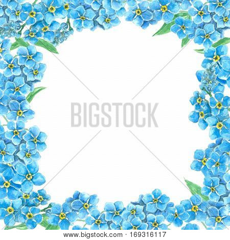 Forget Me Not Frame