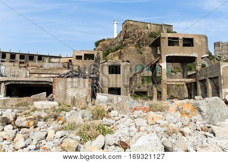 Gunkanjima, Battleship Island in Nagasaki city
