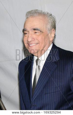 LOS ANGELES - JAN 5:  Martin Scorsese at the