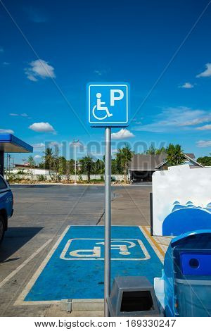 Parking Spaces For Disabled People