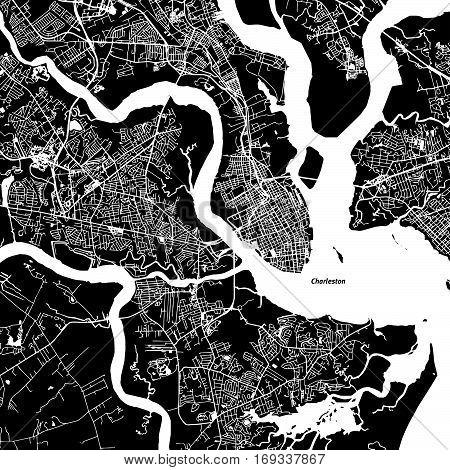 Charleston Vector Map