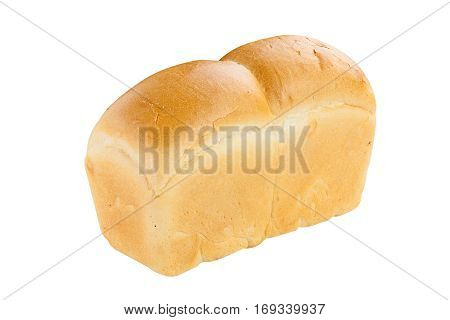Hot Bread Isolated On White Background