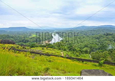 Beautiful landscape view at Elephant rock viewpoint