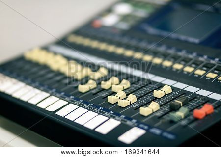 Music equipment for sound mixer control electornic device