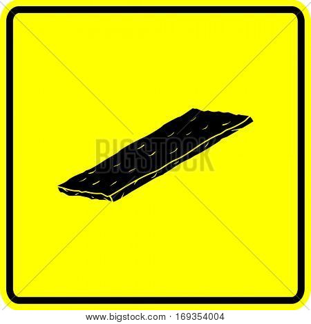 scouring pad sign