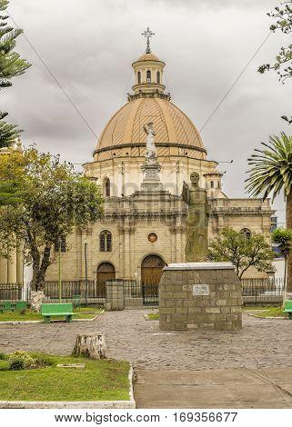 Riobamba Historic Center Urban Square