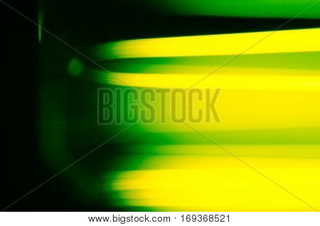 Background Line Green And Yellow Abstract