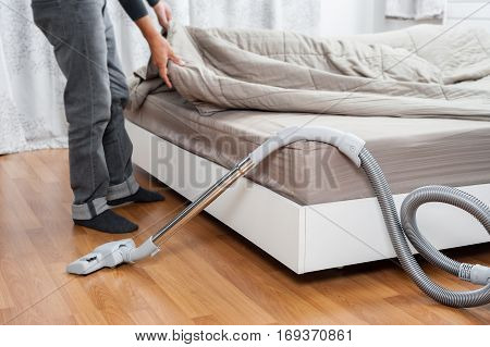 Cleaning The Room