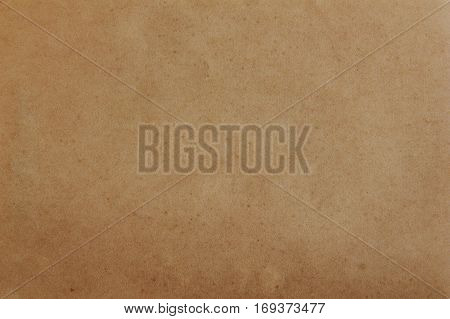 Close-up of old paper texture for background