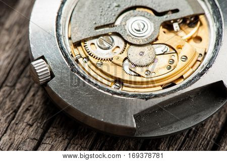 Old Automatic Watch