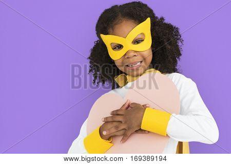 Little girl Superhero Costume Concept