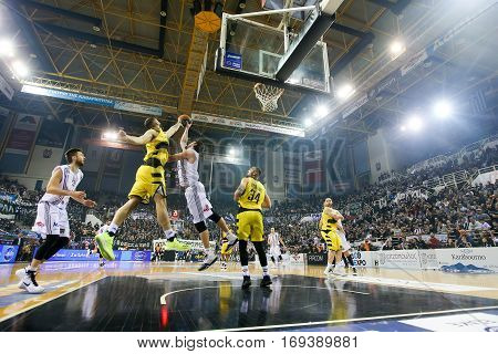 Greek Basket League Game Paok Vs Aris
