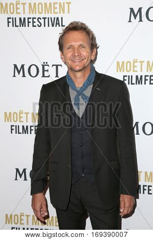 LOS ANGELES - JAN 4:  Sebastian Roche at the 2nd Annual Moet Moment Film Festival at Doheny Room on January 4, 2017 in West Hollywood, CA