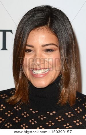 LOS ANGELES - JAN 4:  Gina Rodriguez at the 2nd Annual Moet Moment Film Festival at Doheny Room on January 4, 2017 in West Hollywood, CA