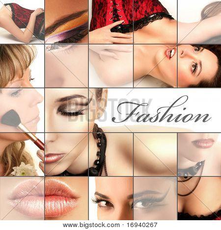 collage di moda