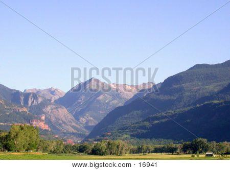 Uncompahgre Valley In Summer