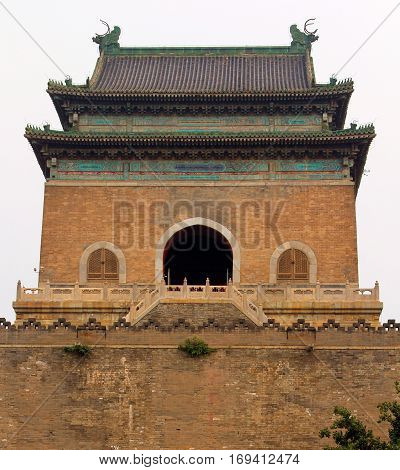 Bell Tower (Zhonglou) - official timepiece of Beijing until 1924 China