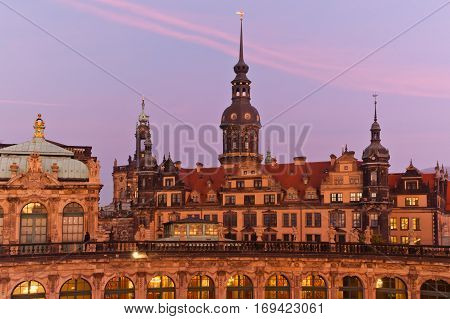 The Catholic Church of the Royal Court of Saxony in Dresden Germany