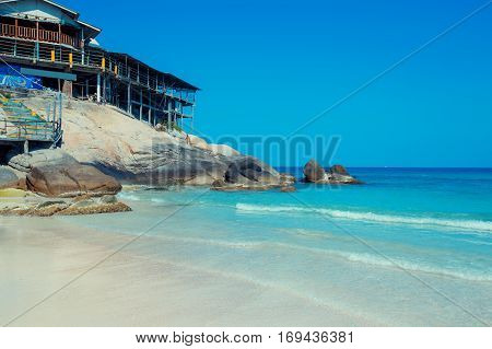 Haad Rin Nok beach at Koh Phangan Island, Thailand, Asia