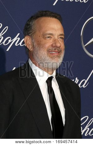PALM SPRINGS - JAN 2:  Tom Hanks at the Palm Springs International FIlm Festival Gala at Palm Springs Convention Center on January 2, 2017 in Palm Springs, CA