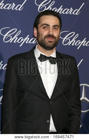 PALM SPRINGS - JAN 2:  Pablo Larrain at the Palm Springs International FIlm Festival Gala at Palm Springs Convention Center on January 2, 2017 in Palm Springs, CA