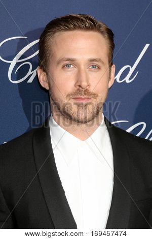 PALM SPRINGS - JAN 2:  Ryan Gosling at the Palm Springs International FIlm Festival Gala at Palm Springs Convention Center on January 2, 2017 in Palm Springs, CA