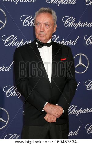 PALM SPRINGS - JAN 2:  Udo Kier at the Palm Springs International FIlm Festival Gala at Palm Springs Convention Center on January 2, 2017 in Palm Springs, CA