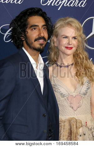 PALM SPRINGS - JAN 2:  Dev Patel, Nicole Kidman at the Palm Springs International FIlm Festival Gala at Palm Springs Convention Center on January 2, 2017 in Palm Springs, CA