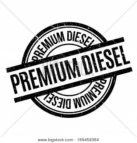 Premium Diesel rubber stamp. Grunge design with dust scratches. Effects can be easily removed for a clean, crisp look. Color is easily changed.