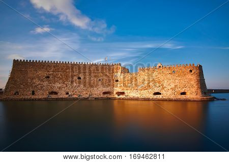 Koule The vemetian Castle of Heraklion restored