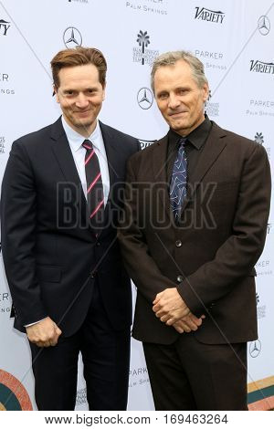 Palm Springs - JAN 3:  Matt Ross, Viggo Mortensen at the Variety's Creative Impact Awards and 10 Directors to Watch at the Parker Palm Springs on January 3, 2017 in Palm Springs, CA