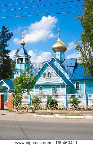 The Church of Constantine and Helena, the town of Vsevolozhsk of Leningrad oblast, Russia