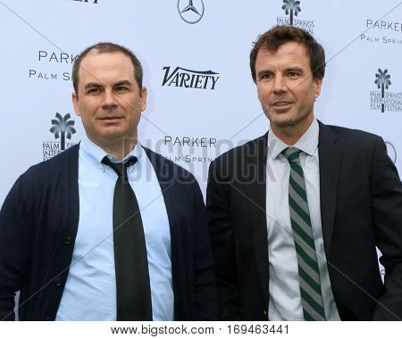 Palm Springs - JAN 3:  Brendan Malloy, Emmett Malloy at the Variety's Creative Impact Awards and 10 Directors to Watch at the Parker Palm Springs on January 3, 2017 in Palm Springs, CA
