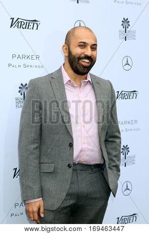 Palm Springs - JAN 3:  Ritesh Batra at the Variety's Creative Impact Awards and 10 Directors to Watch at the Parker Palm Springs on January 3, 2017 in Palm Springs, CA