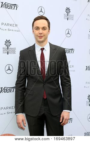 Palm Springs - JAN 3:  Jim Parsons at the Variety's Creative Impact Awards and 10 Directors to Watch at the Parker Palm Springs on January 3, 2017 in Palm Springs, CA
