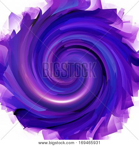 Abstract coloring background of the deep sea gradient with visual pinch,twirl,lighting,cubism  and shear effects