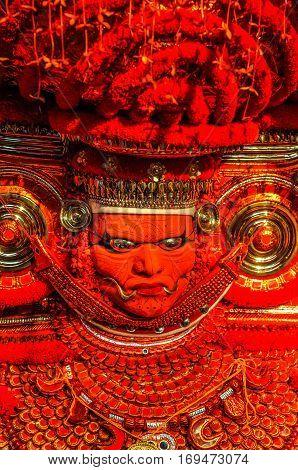 Orange Mask In Kerala