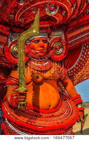 Golden Sword In Kerala