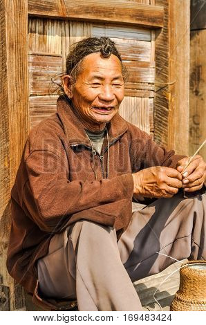 Talking Man In Arunachal Pradesh