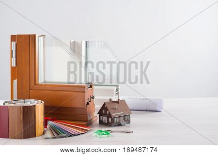 Windows Sections With Triple Glazing