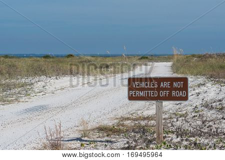 Reminder to Stay Off Sensitive Sand Dunes along Florida Gulf Coast