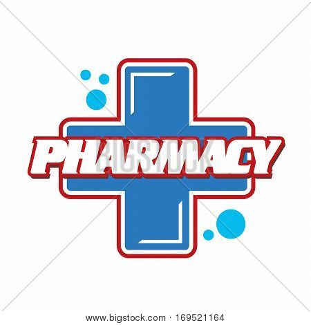 Logo Pharmacies and medicine. Plus symbol. template design logo Medical pharmacy.