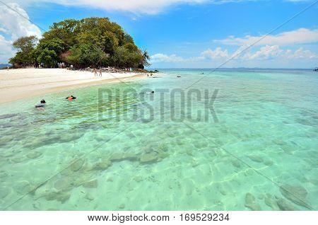 Clear water, Tropical beach, Andaman Sea, Thailand