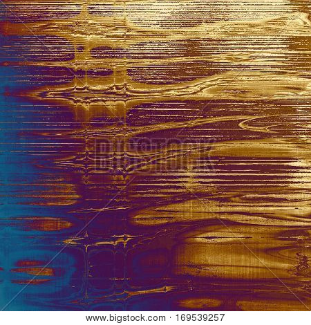 Distressed texture, faded grunge background or backdrop. With different color patterns: yellow (beige); brown; blue; red (orange); purple (violet); pink
