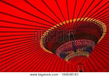 Traditional umbrella of Japan