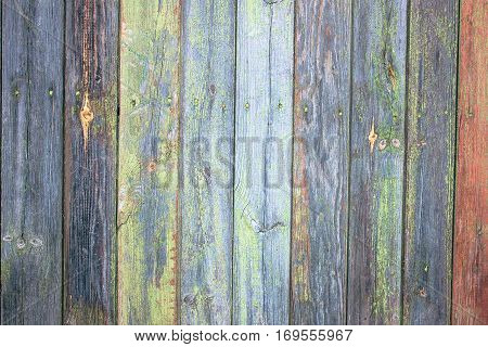 Old weathered wooden wall or floor background (can be used as background). Rustic, shabby chick wooden background. Aged wood planks pattern. Wooden surface.