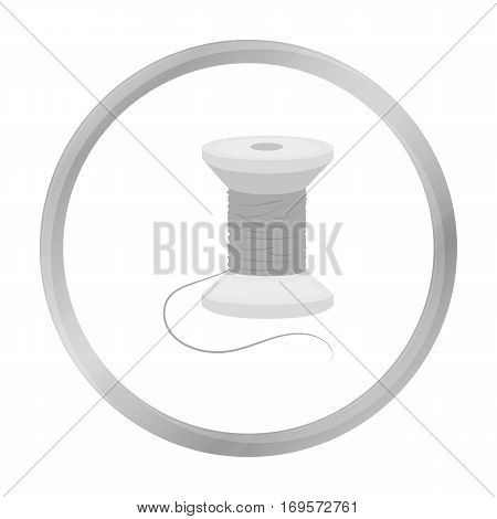 Spool of thread icon of vector illustration for web and mobile design